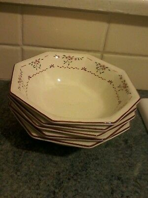 Johnson Brothers Madison 6.75Ins Bowls X 5 Great