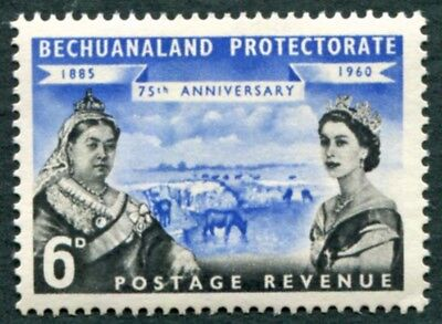 BECHUANALAND PROTECTORATE 1960 6d SG156 mint MH FG 75th Anniversary a #W51