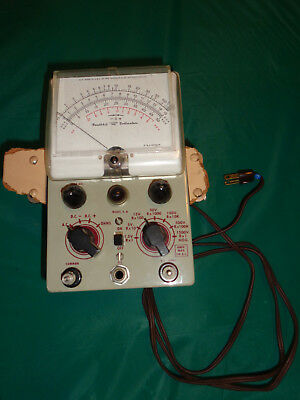 Heathkit Vacuum Tube Voltmeter Model V-6 Powers On But Unknown Working Condition