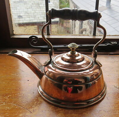 Antique Small Copper Kettle