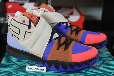 best sneakers 9f061 5af92 Nike Kyrie S1 Hybrid What The Vivid Blue Mutli Color AJ5165-900 Men size 8