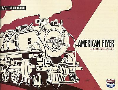 LIONEL 2017 AMERICAN FLYER TRAIN CATALOG S GAUGE train accessories christmas NEW