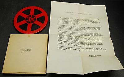 """Vintage 8 mm 200+' film """"Steam Power on the New York Central"""", a Nadel film"""