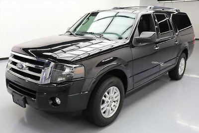 2014 Ford Expedition Limited Sport Utility 4-Door 2014 FORD EXPEDITION EL LIMITED SUNROOF NAV LEATHER 78K #F01834 Texas Direct