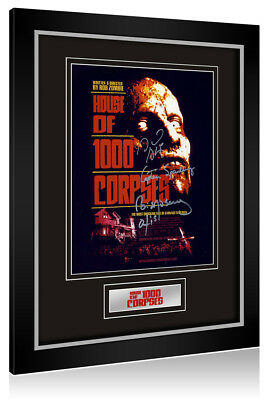 •Sale• House of 1000 Corpses (Bill Moseley / Sid Haig) Signed Framed Display