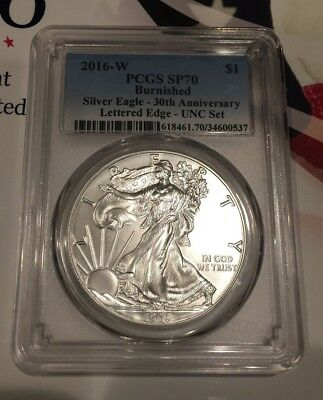 2016 Annual Dollar Mint Set with the Burnished Silver Eagle