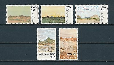 S.W. Africa  338-42 MNH, Painings, 1973
