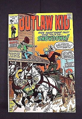Outlaw Kid #1 August 1970 Bronze Age Marvel Comics  See all 12 Photos