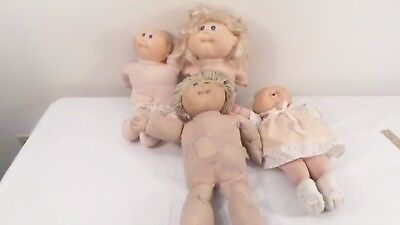 Lot 1990s Cabbage Patch Dolls Cabbage Patch Kids Dolls