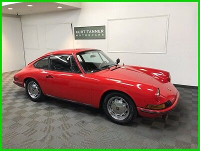 1968 Porsche 912 912 COUPE 1968 PORSCHE 912 COUPE. RED WITH BLACK TRIM. RUST FREE. RUNS AND DRIVES GREAT.