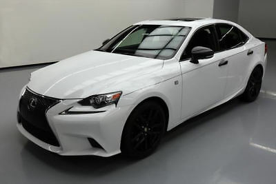 2015 Lexus IS  2015 LEXUS IS250 CRAFTED LINE F SPORT SUNROOF NAV 40K #061188 Texas Direct Auto