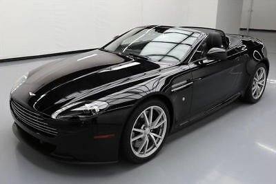 2014 Aston Martin Vantage Base Convertible 2-Door 2014 ASTON MARTIN VANTAGE ROADSTER NAV TRIPLE BLK 4K MI #D17899 Texas Direct