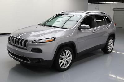 2016 Jeep Cherokee Limited Sport Utility 4-Door 2016 JEEP CHEROKEE LIMITED HTD LEATHER NAV REAR CAM 34K #200296 Texas Direct