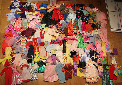 12 Inch Doll Outfits Clothes Lot of 300 pcs. - Will Fit Barbie Dolls Ken Dolls