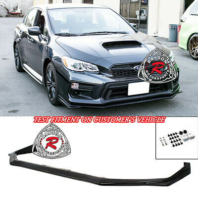 V-Limited Style Front Lip (Urethane) Fits 18-Up Subaru WRX STi