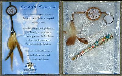 Legend Of The Dreamcatcher ~ Including Dreamcatcher And Pen ~ New