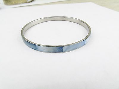 Vintage Mother Of Pearl Dyed Mother Of Pearl  Bangle Bracelet