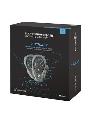 RXUK Tour twin pack Interphone Cellularline