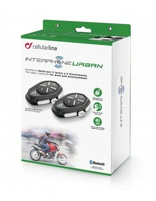 RXUK Urban Twin Pack Interphone Cellularline