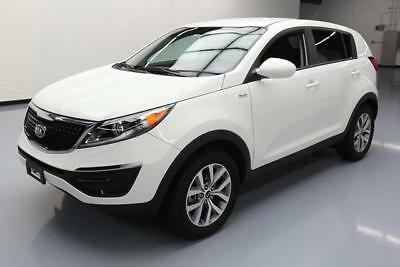 2016 Kia Sportage LX Sport Utility 4-Door 2016 KIA SPORTAGE LX AWD CD AUDIO BLUETOOTH ALLOYS 38K #881159 Texas Direct Auto