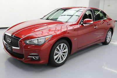 2016 Infiniti Q50 Base Sedan 4-Door 2016 INFINITI Q50 2.0T AWD TURBO SUNROOF REAR CAM 29K #252627 Texas Direct Auto