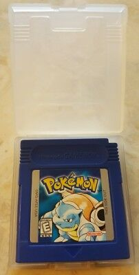 Pokemon Blue Version (Nintendo Game Boy, 1998) AUTHENTIC! TESTED!