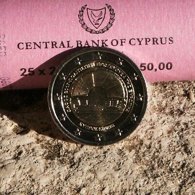 "Chypre Piece 2 Euro Commemorative 2017 ""Paphos Capitale Culture"" Neuve Rare"