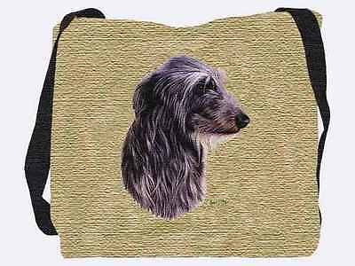 Woven Tote Bag - Scottish Deerhound 3325