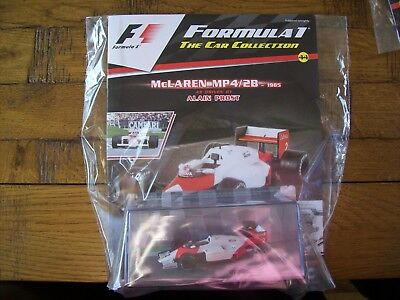 Formula 1 The Car Collection Part 44 McLaren MP4/2B 1985 Alain Prost