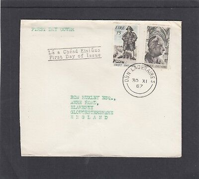 Ireland 1967 Jonathan Swift (writer) First Day Cover FDC