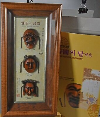 Original Koreanische Traditionelle Masken