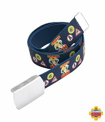 kids childrens boys fireman sam belt with buckle