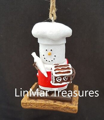 S'mores Gingerbread House Ornament Midwest CBK