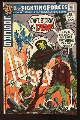 OUR FIGHTING FORCES #135 NEAR MINT 1972 THE LOSERS DC COMICS bin-2017-4453