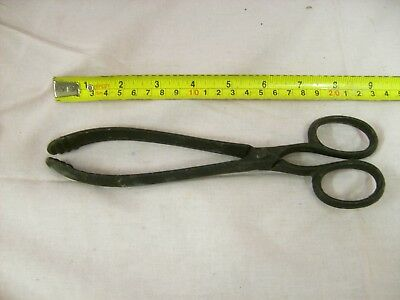 Iron Fire tongs Vintage Free P+P