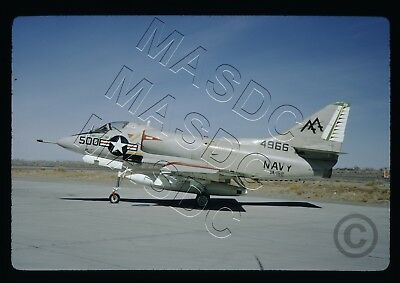 35mm Kodachrome Aircraft Slide - A-4B Skyhawk BuNo 144966 AA500 VA-152 - May 68