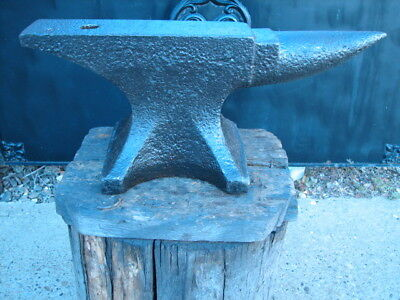 Nice 131 lb Trenton Fisher Anvil Blacksmith Great Ring Rebound Farrier NR