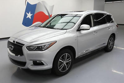 2016 Infiniti QX60 Base Sport Utility 4-Door 2016 INFINITI QX60 PREMIUM HEATED LEATHER SUNROOF 30K #502375 Texas Direct Auto