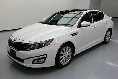 2015 Kia Optima  2015 KIA OPTIMA EX PREM LEATHER PANO ROOF REAR CAM 34K #406073 Texas Direct Auto