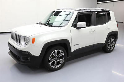 2016 Jeep Renegade Limited Sport Utility 4-Door 2016 JEEP RENEGADE LIMITED HTD LEATHER REAR CAM 37K MI #C96442 Texas Direct Auto