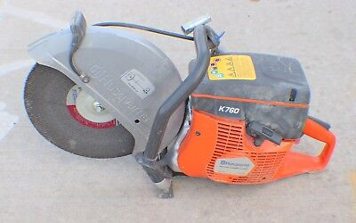 """Husqvarna K760 14"""" Gas Cut-Off Concrete Saw With Water Line"""