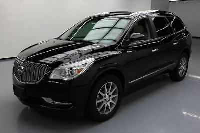 2017 Buick Enclave Leather Sport Utility 4-Door 2017 BUICK ENCLAVE LEATHER DUAL SUNROOF REAR CAM 15K MI #145142 Texas Direct