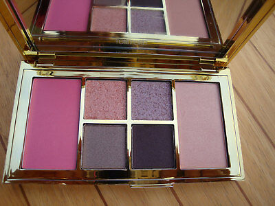 LE TOM FORD Soleil Eye & Cheek Palette Eyeshadows Blusher Highlighter - 01 Cool