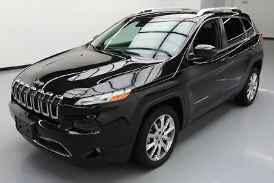 2014 Jeep Cherokee Limited Sport Utility 4-Door 2014 JEEP CHEROKEE LIMITED HTD LEATHER NAV REAR CAM 23K #103871 Texas Direct