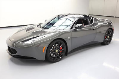2013 Lotus Evora S Coupe 2-Door 2013 LOTUS EVORA S 2+2 6-SPEED PREMIUM TECH NAV ONLY 9K #A10800 Texas Direct