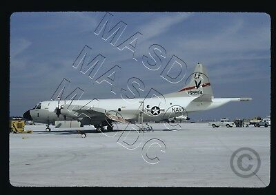 35mm Kodachrome Aircraft Slide - P-3C Orion BuNo 158914 LF1 VP-16 @ NAS Jax 1973