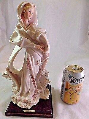 "Armani Beautiful Figurine By Artist Cedraschi - Mint 12"" - 7""-5"""