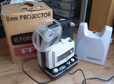 Vintage Ilford Elmo FP - C 8mm Home Movie Film Projector Spares / Repair Only