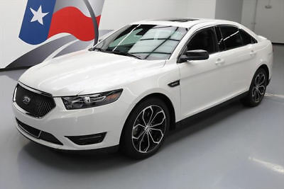 2015 Ford Taurus SHO Sedan 4-Door 2015 FORD TAURUS SHO ECOBOOST AWD LEATHER NAV 20'S 27K #181648 Texas Direct Auto