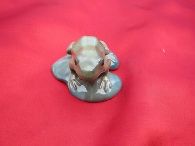 Vintage Ceramic Rosenthal Germany Cute Frog Figurine